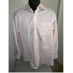 Tommy Bahama Button Front L/S Shirt Pink 15 1/2